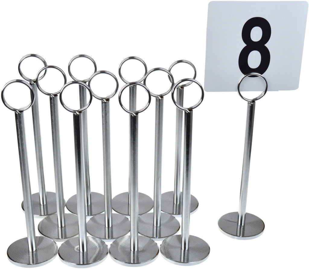 Argon Tableware Classic Table Number Holder - 20cm