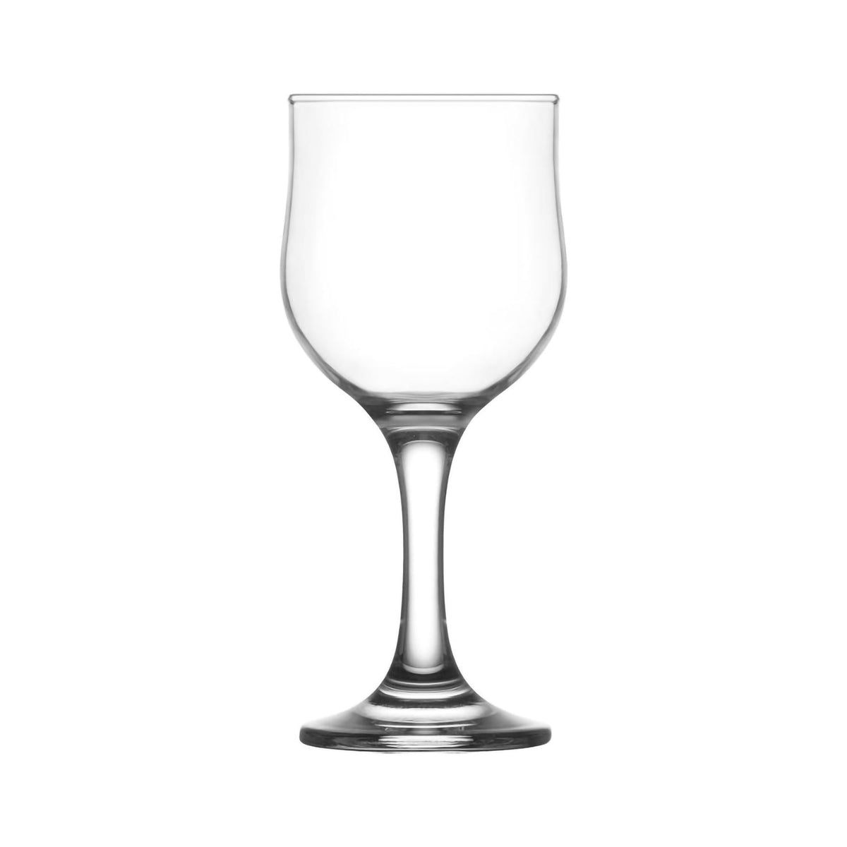 LAV Nevakar Stemmed Red Wine Tulip Glasses - 240ml