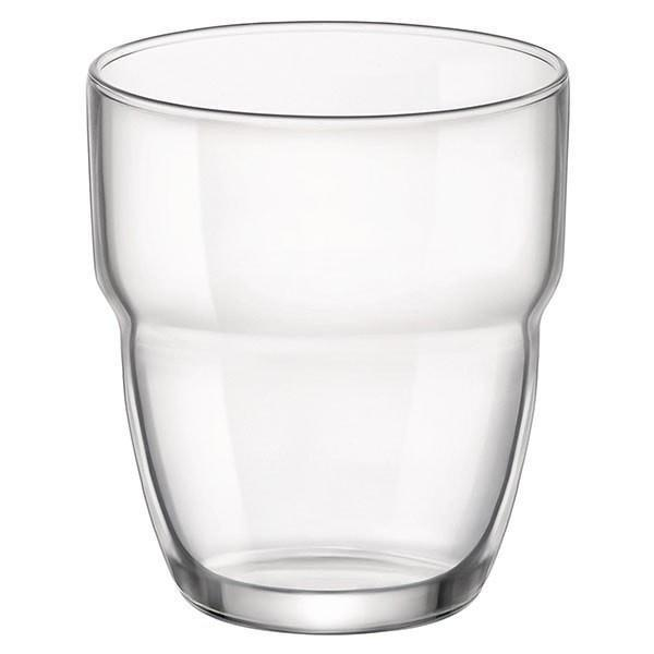 Bormioli Rocco Modulo Stacking Glass Drinking Tumbler - 305ml