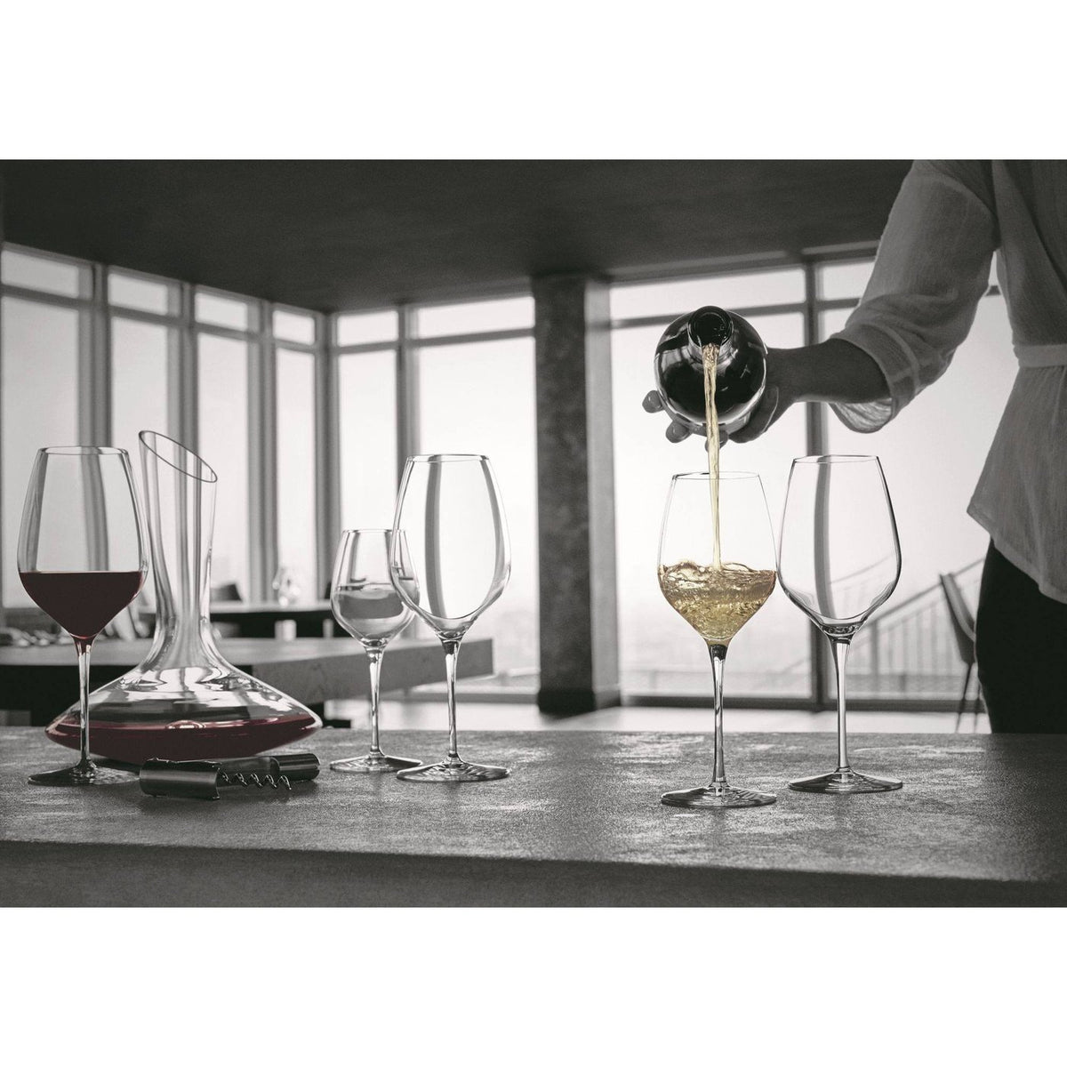 Bormioli Rocco Inalto Tre Sensi Medium Wine Drinking Glass - 430ml