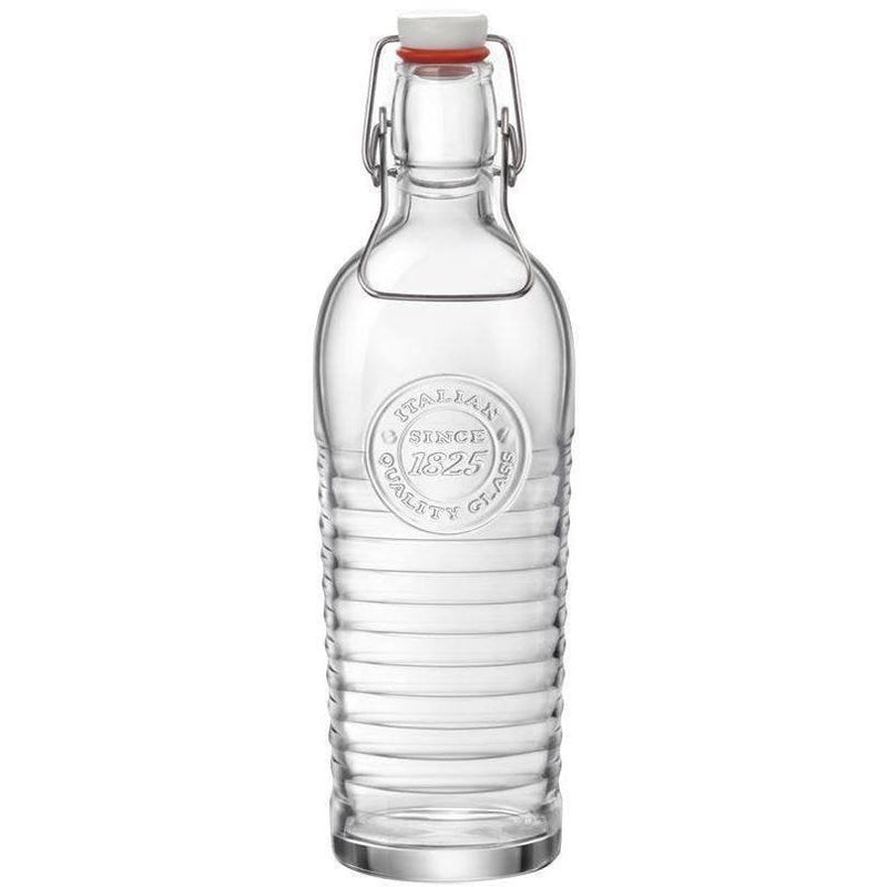Bormioli Rocco Officina 1825 Vintage Glass Serving Bottle - 1200ml