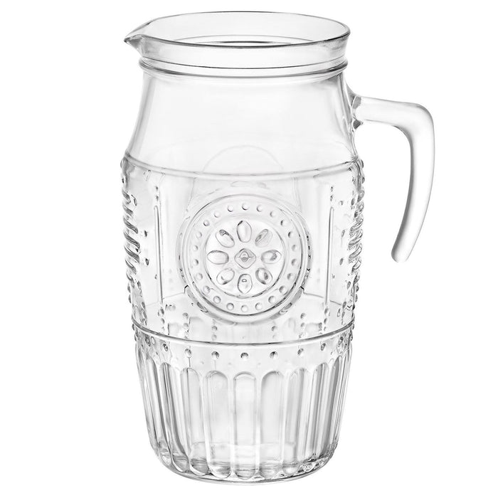 Bormioli Rocco Romantic Glass Water / Juice Serving Jug - 1600ml