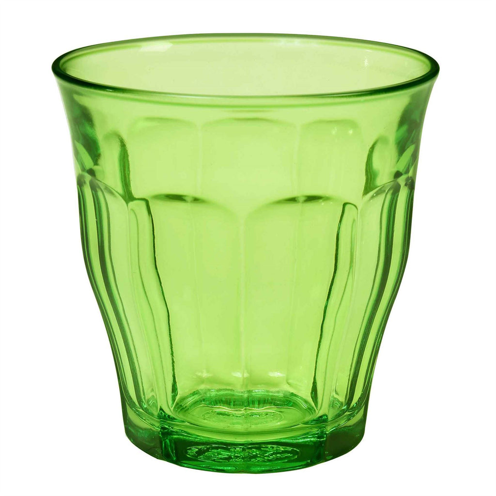 Duralex Picardie Glass Drinking Tumbler - Green - 250ml