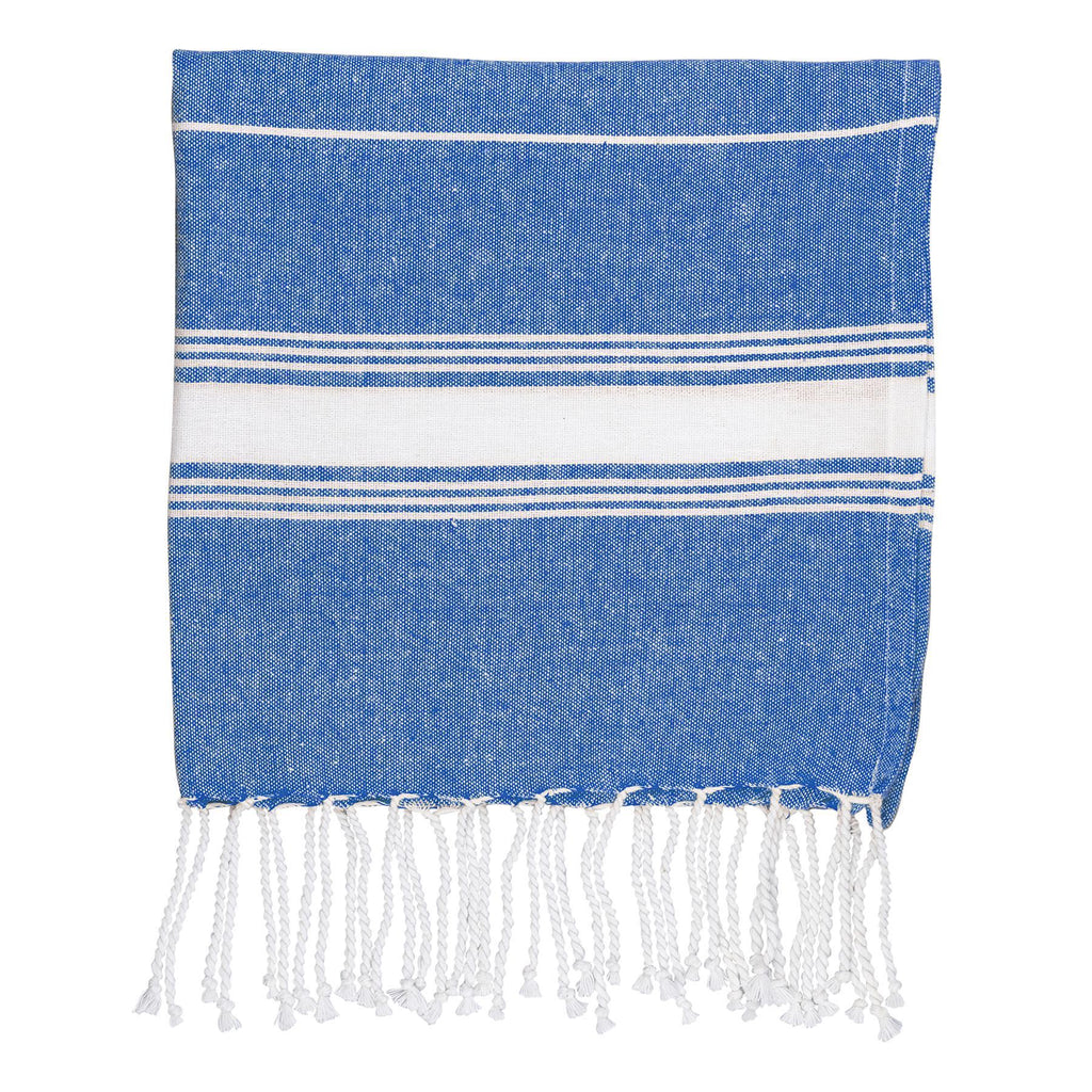 Nicola Spring 100 x 60cm Turkish Cotton Beach Towel - Navy