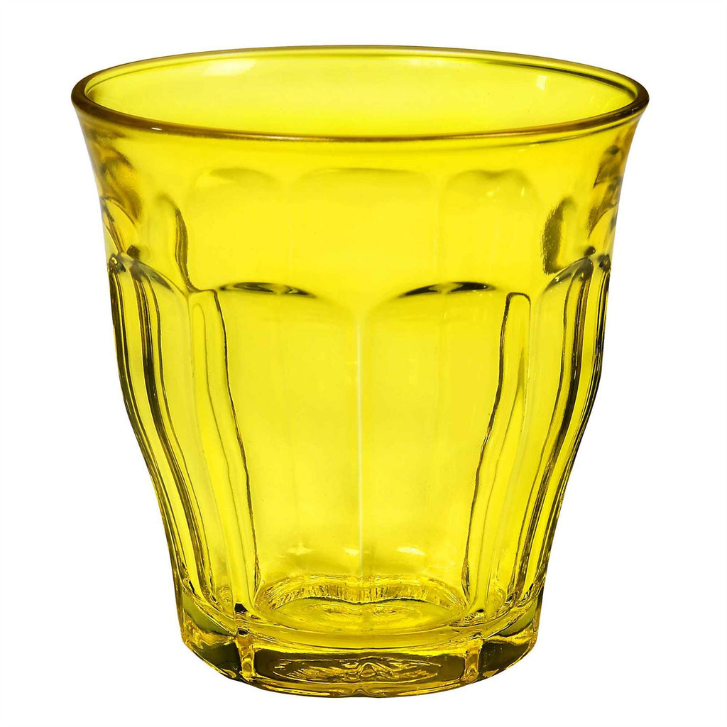Duralex Picardie Glass Drinking Tumbler - Yellow - 250ml