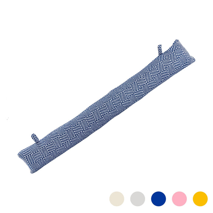 Nicola Spring Decorative Draught Excluder - Blue - 80cm