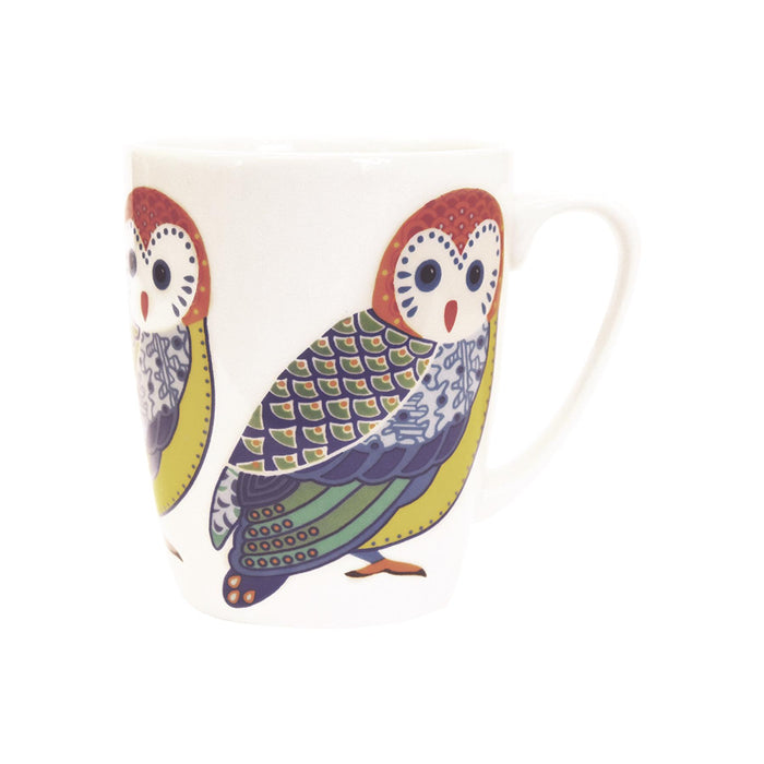 Churchill Paradise Birds Mug - 400ml - Owl