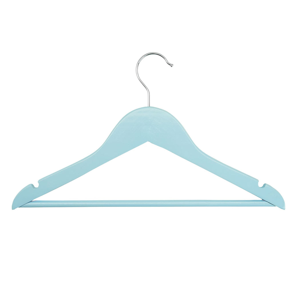 Harbour Housewares Children's Clothes Hanger - Pastel Blue