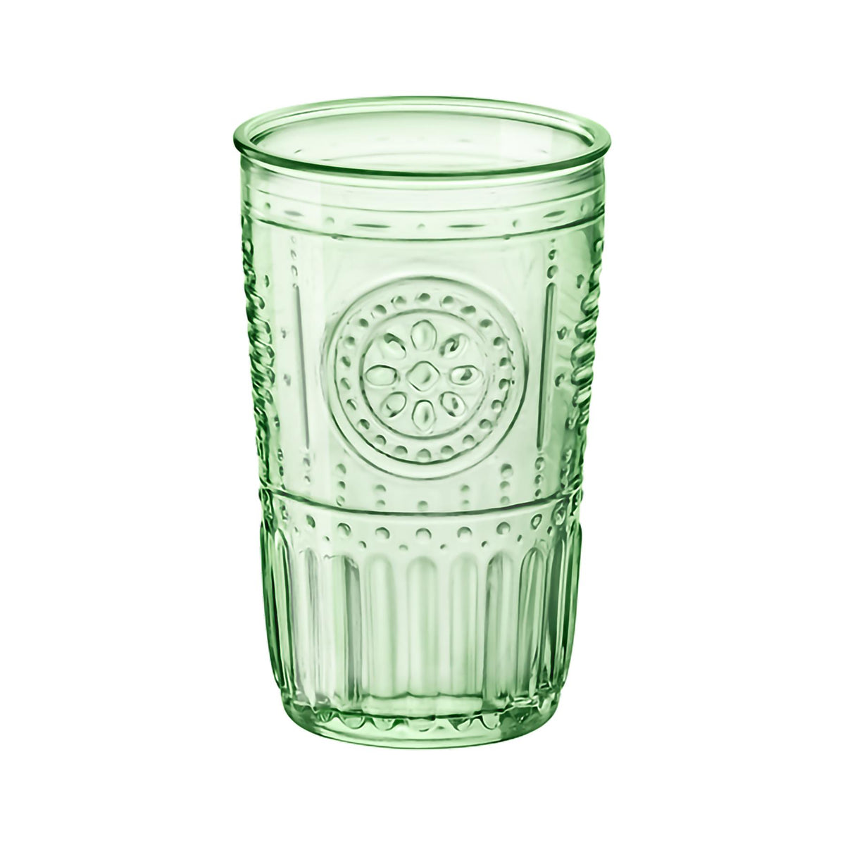 Bormioli Rocco Romantic Highball Glasses - 475ml - Pack of 6 - Green