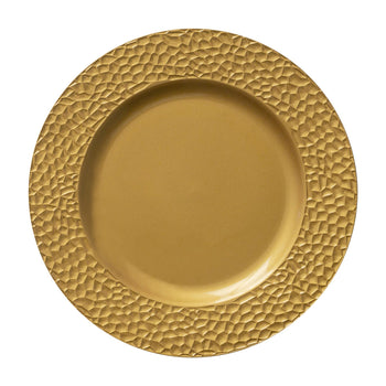 Argon Tableware Gold Round Hammered Effect Charger Under Plate