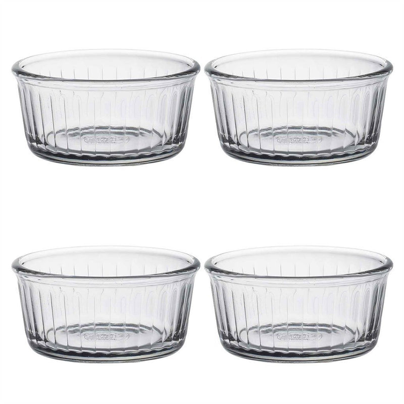 Duralex Clear Glass Dining Dessert Ramekin - 85mm