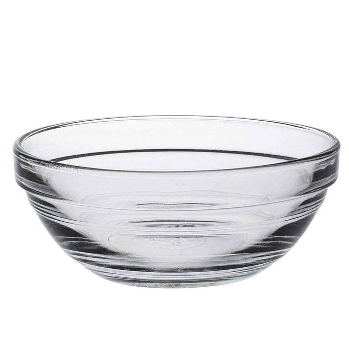 Duralex Lys Clear Stacking Glass Food Bowl - 105mm