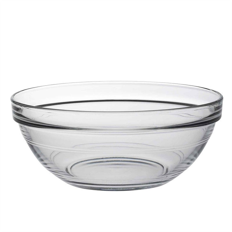 Duralex Lys Clear Stacking Glass Food Bowl - 170mm