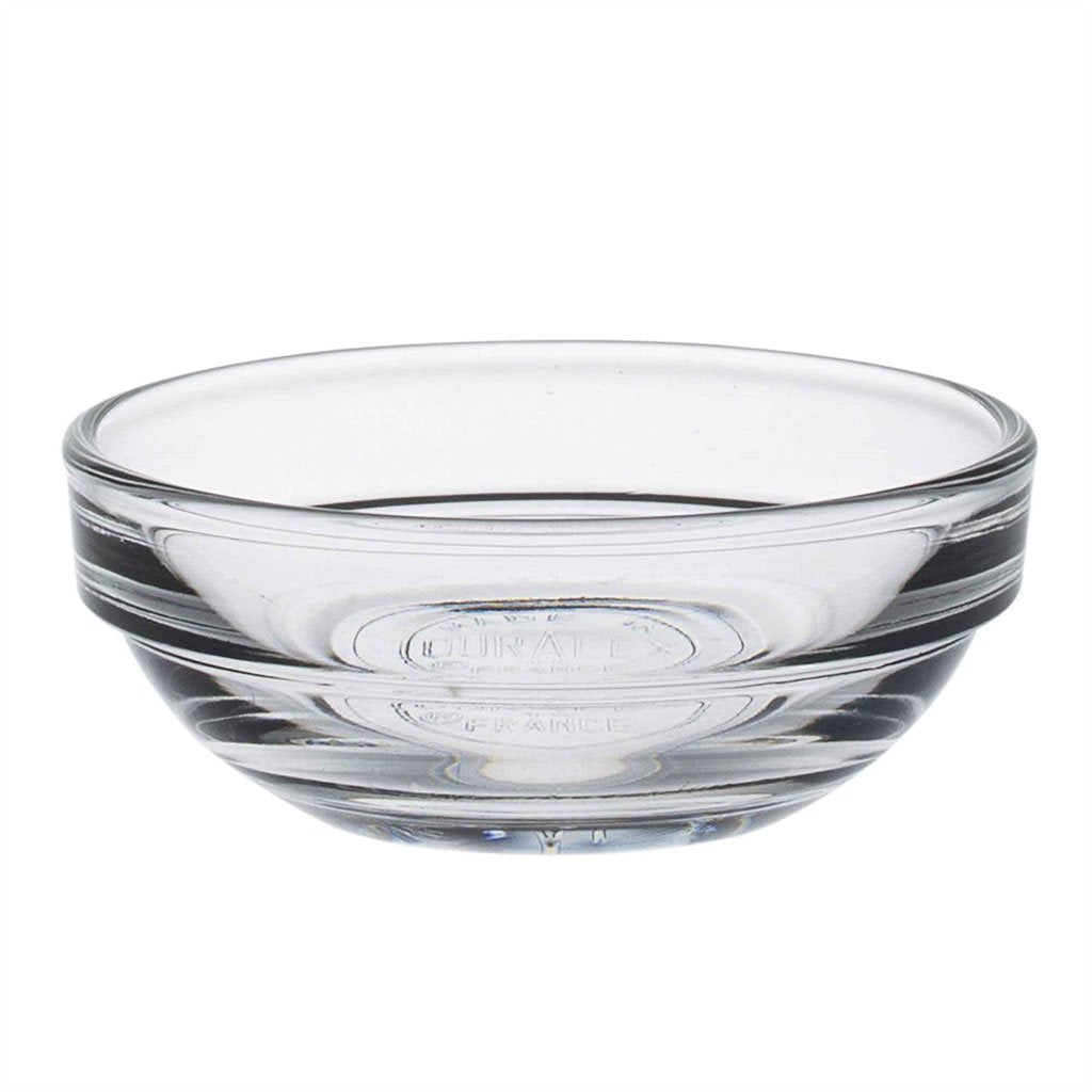 Duralex Lys Clear Stacking Glass Food Bowl - 60mm
