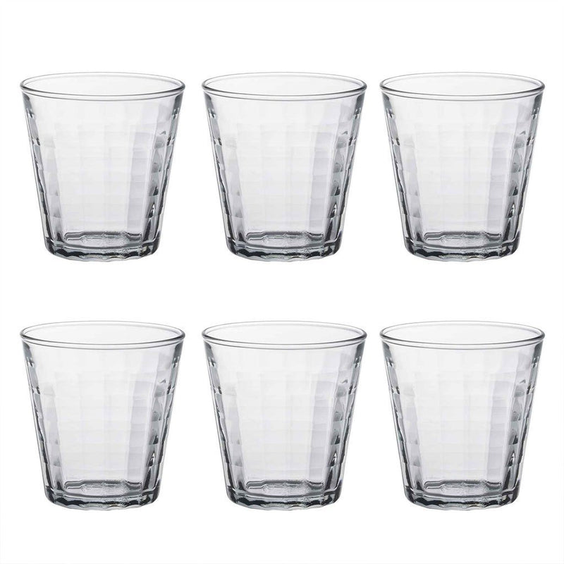 Duralex Prisme Glass Drinking Tumbler - 220ml