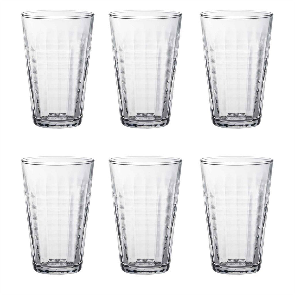 Duralex Prisme Glass Drinking Tumbler - 330ml
