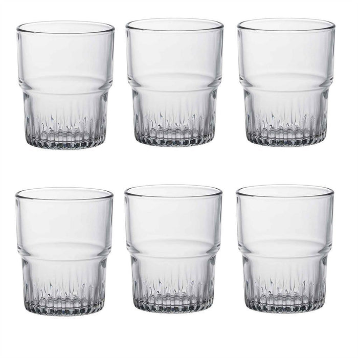 Duralex Empilable Stacking Glass Drinking Tumbler - 200ml