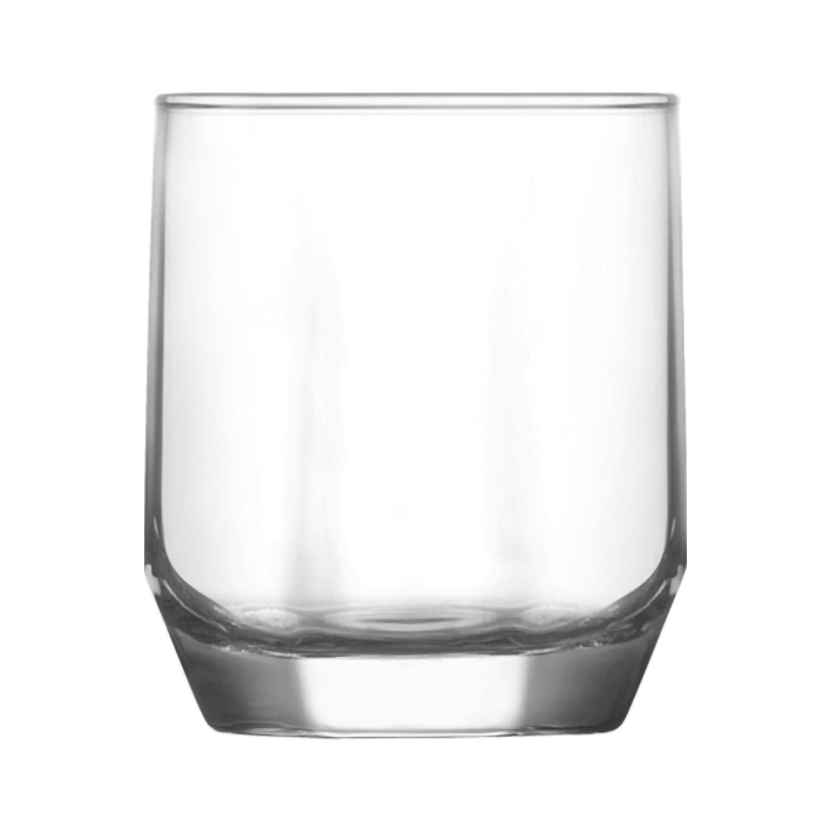 LAV Diamond Glass Water Tumblers - 215ml