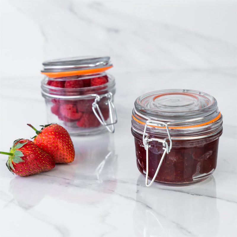 Argon Tableware Glass Storage Jar - 125ml