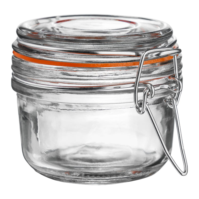 Argon Tableware Preserving / Jam Glass Storage Jar - 125ml Argon Tableware Preserve Jars