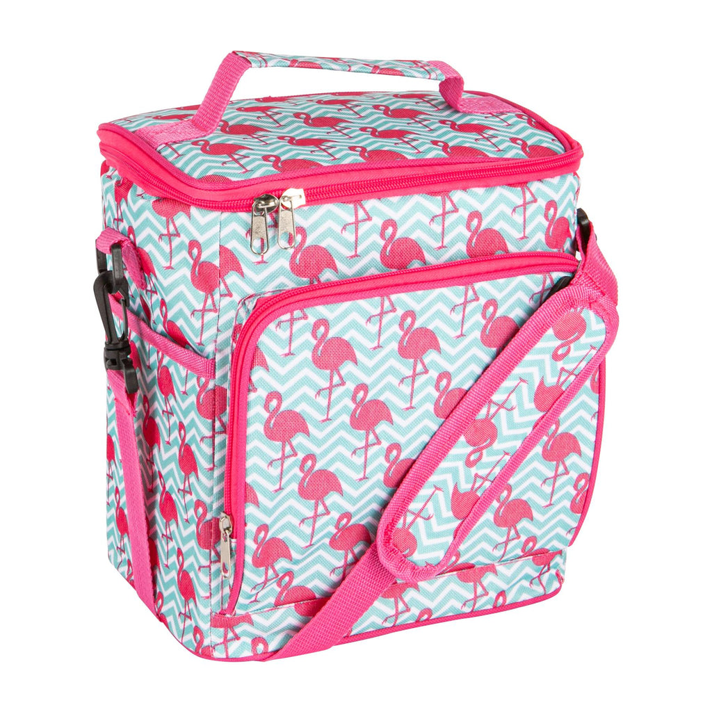 Nicola Spring Insulated Cooler Bag - Flamingo
