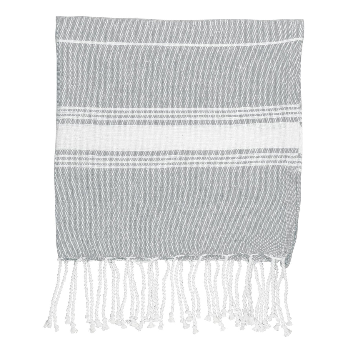 Nicola Spring Kids Turkish Beach Towel - Grey
