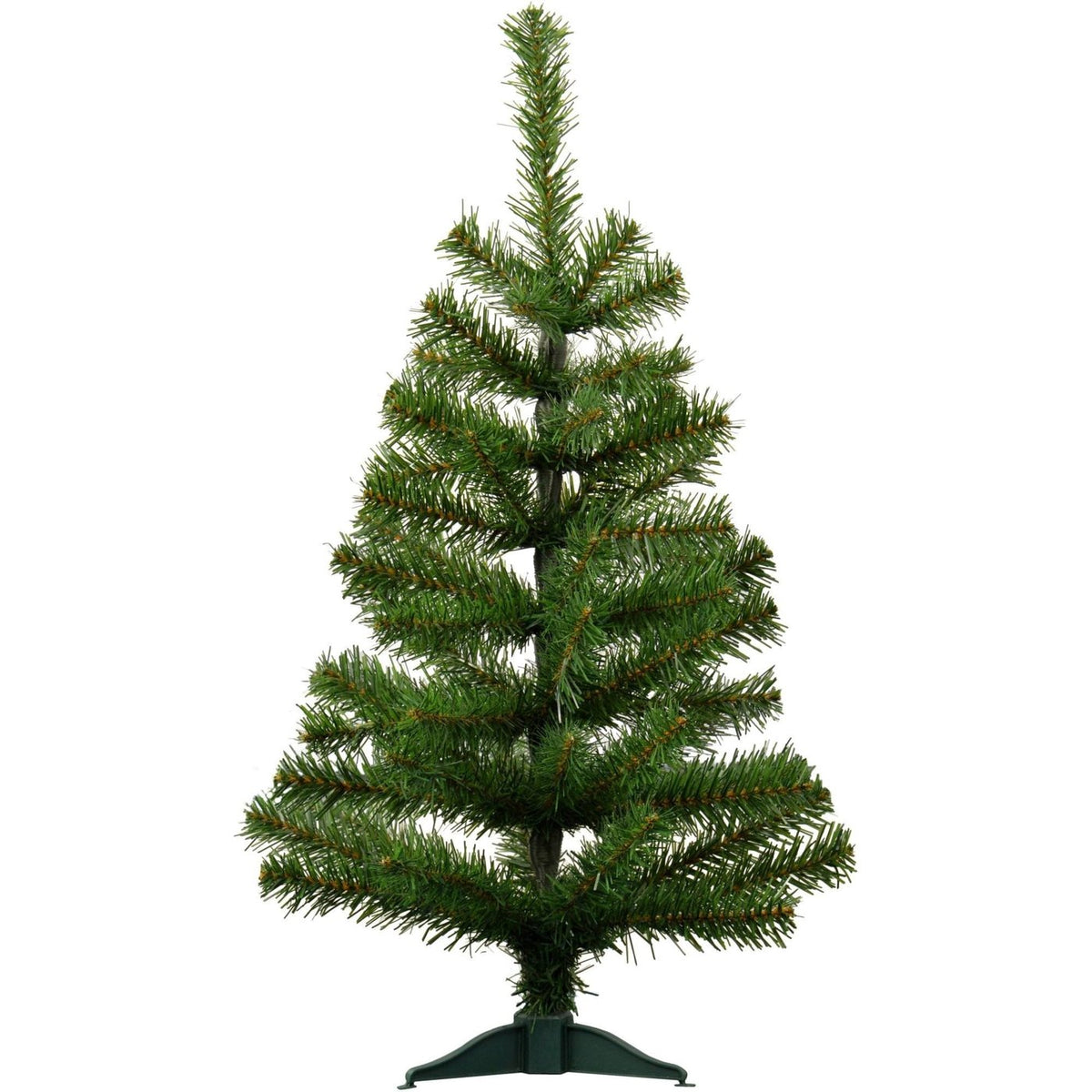 Harbour Housewares Artificial Pine Christmas Tree With Stand - 2ft