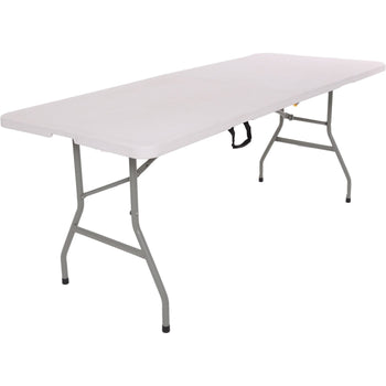 "Harbour Housewares Rectangle Trestle Folding Table - 6""ft"