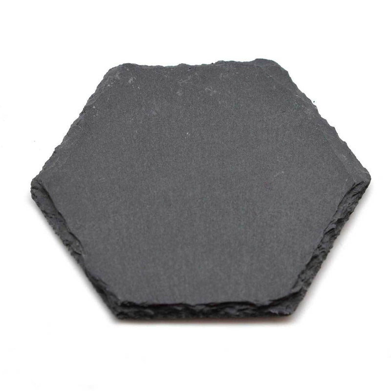 Argon Tableware Hexagon Natural Slate Drinks Coaster