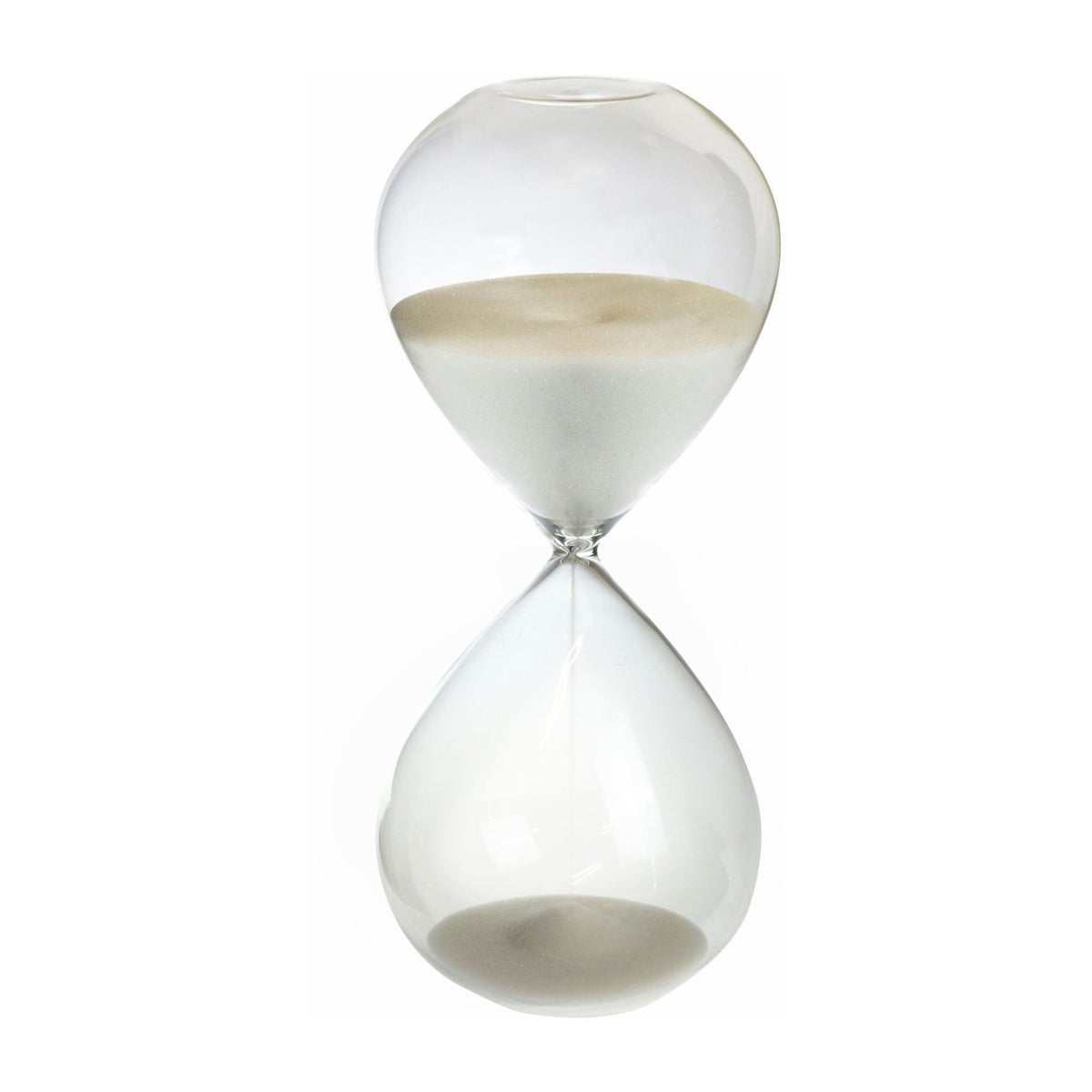 Nicola Spring Hourglass Kitchen Sand Timer - 60 minutes