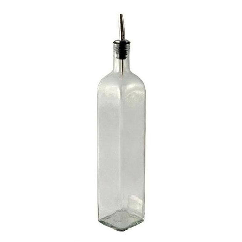 Argon Tableware Olive Oil and Vinegar Bottle with Pourer - 500ml