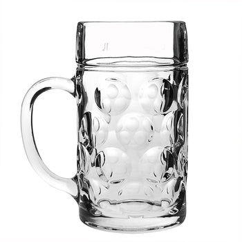Rink Drink German Stein Beer Glass - 2 Pints