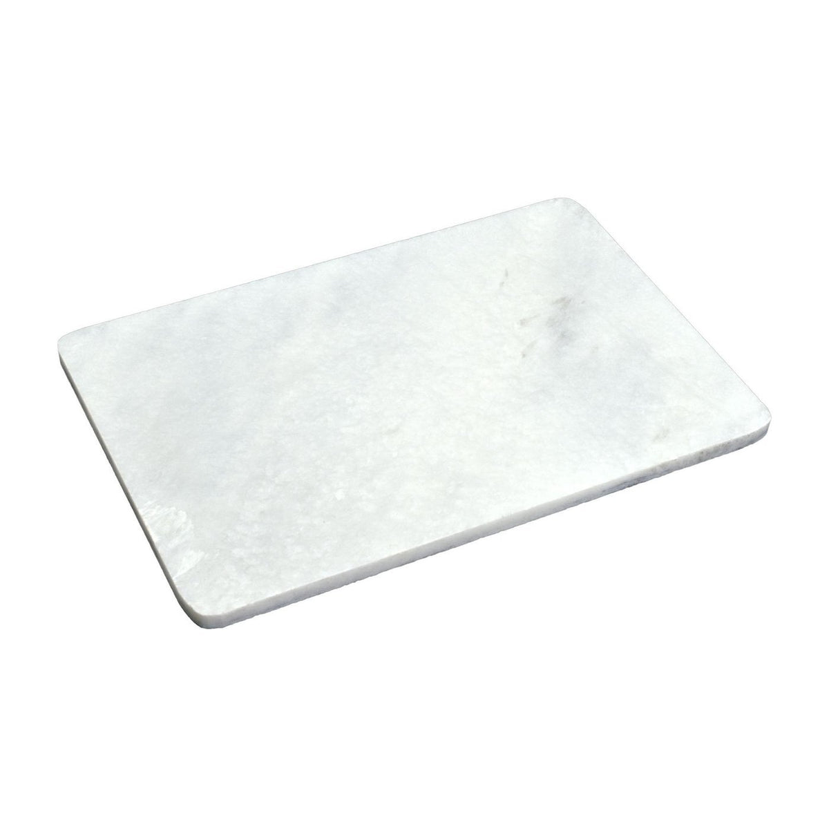 Argon Tableware White Rectangular Marble Chopping Board