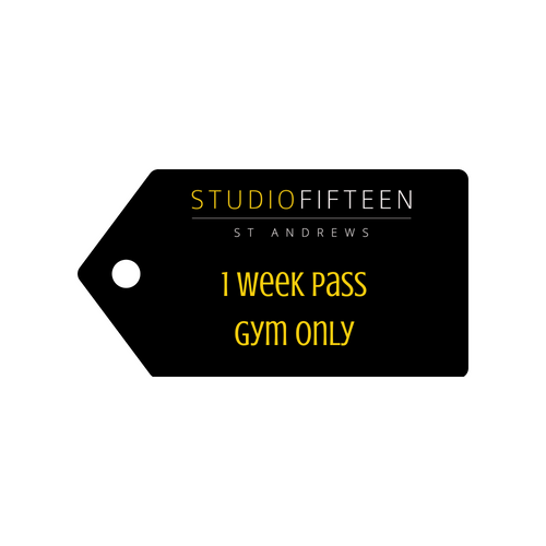 1 Week Membership - Gym only