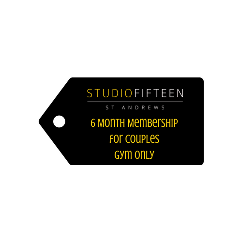 6 Month Membership - for Couples