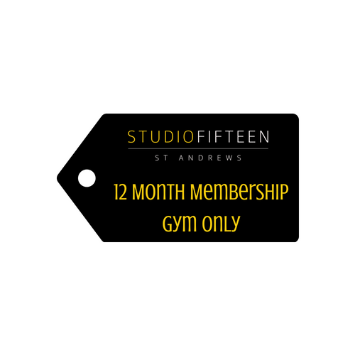 12 Month Membership - Peak-Hours