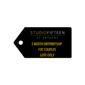 3 Month Membership - for Couples
