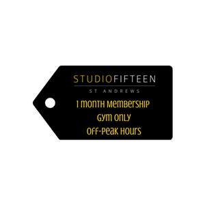 1 Month Membership - Off-Peak Hours