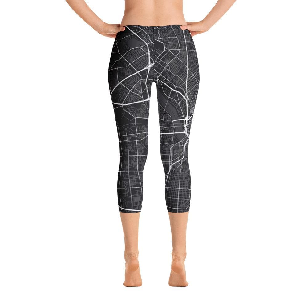 Capri Leggings Dallas Texas Black