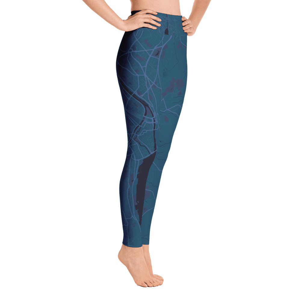 Yoga Leggings Zurich Aubergine