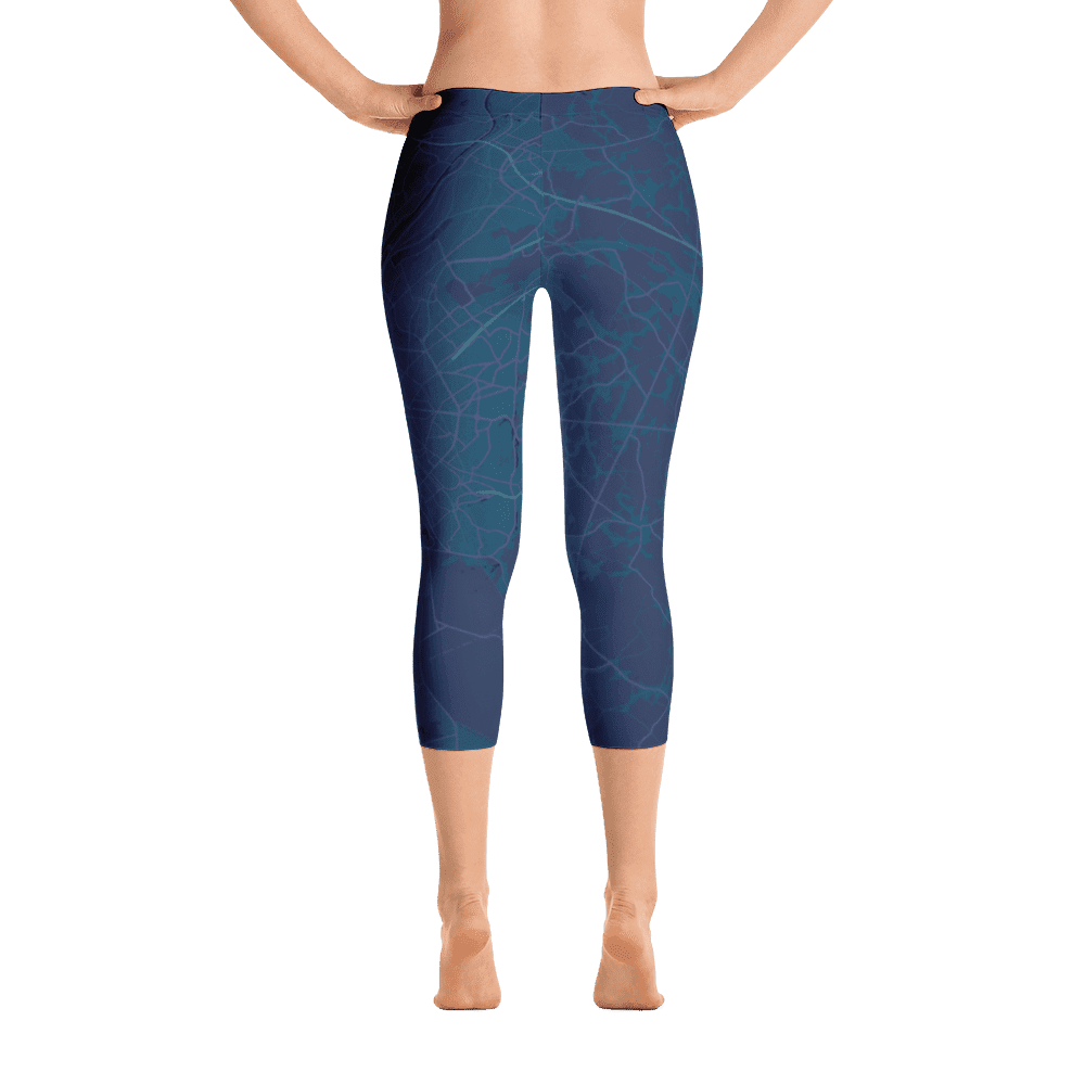 Capri Leggings Brussels Aubergine
