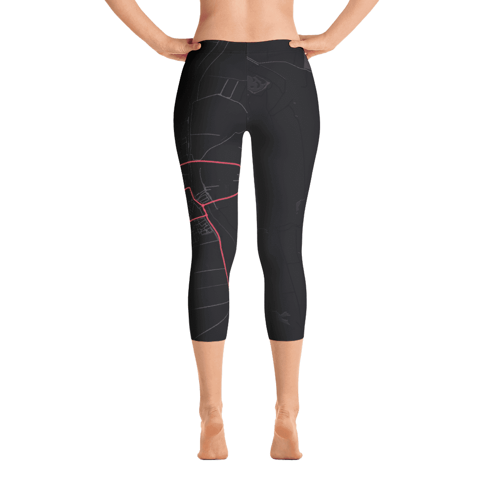 Capri Leggings Dirksland Black Pink