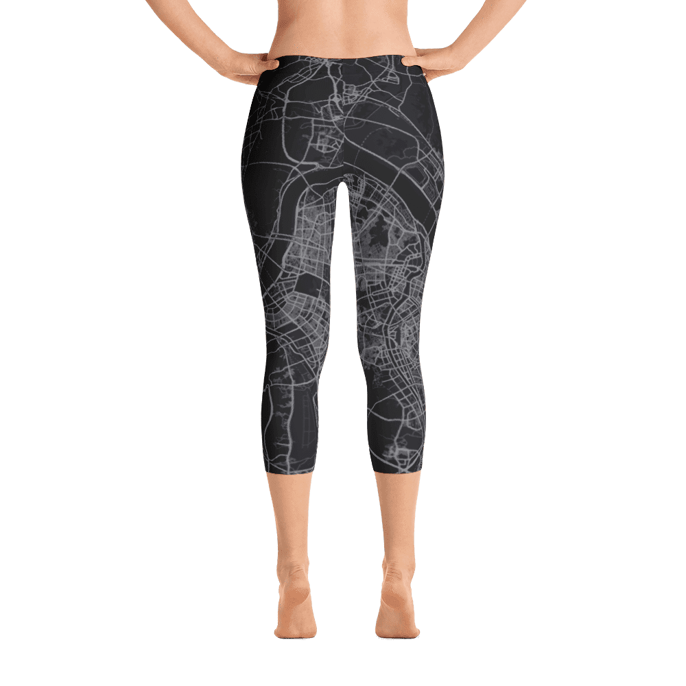 Capri Leggings Seoul Black