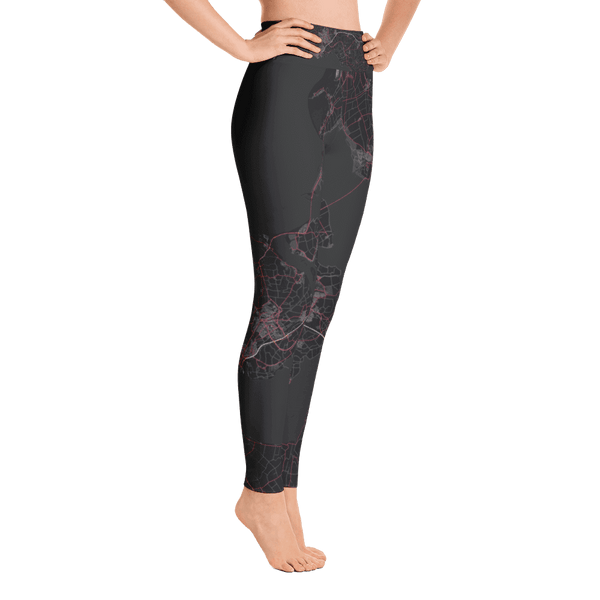 Yoga Leggings Zeeland Black Pink
