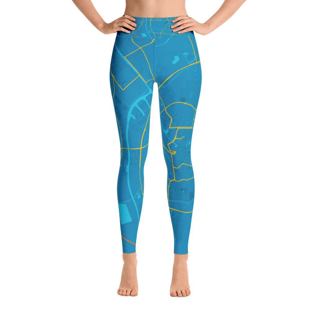Yoga Leggings Almelo Blue