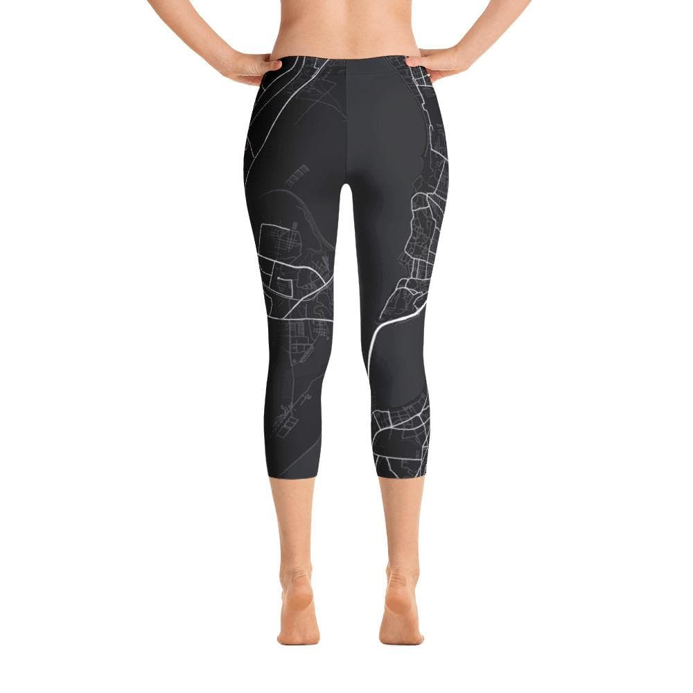 Capri Leggings Mumbai Black