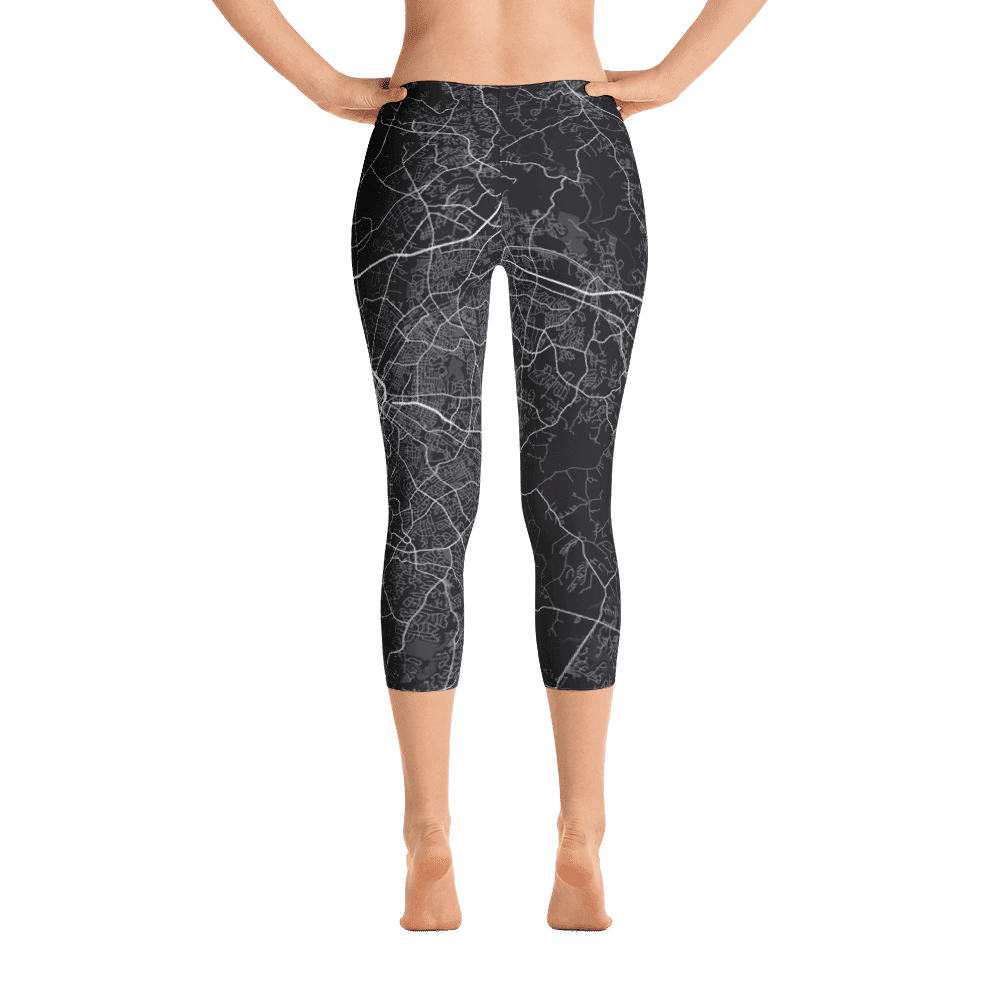 Capri Leggings Charlotte North Carolina Black