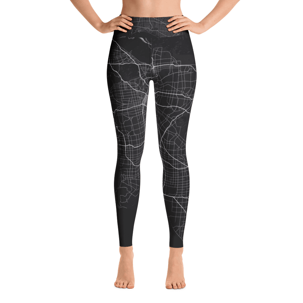 Yoga Leggings Los Angeles Black
