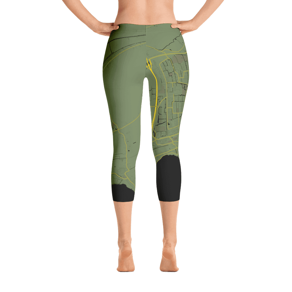 Capri Leggings Hoorn Olive Green