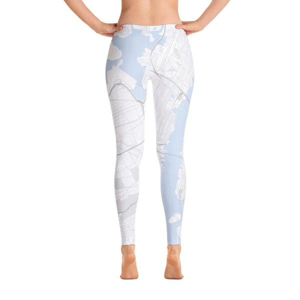 New York White Leggings